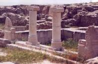 Tempelruinen auf der Failaka Insel
