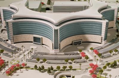 Jaber Ahmed Al-Jaber Al-Sabah Hospital (Baukonstruktion)